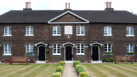 Richmond Charities - Almshouses - Houblons