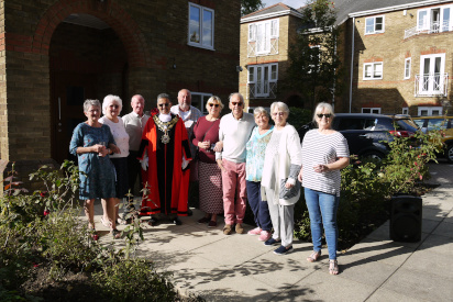 Official opening of Manning Place Almshouses, Richmond