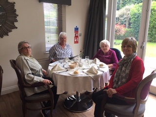 The Richmond Charities' Residents' visit and lunch at Lynde House