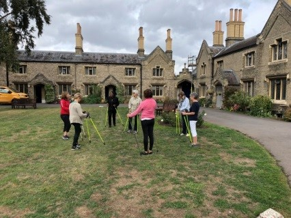 Nordic Walking for Almshouse Residents
